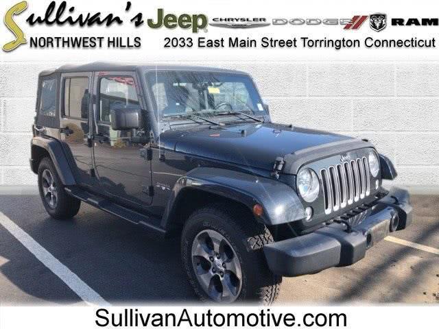 Used Jeep Wrangler Unlimited Sahara 2016 | Sullivan Automotive Group. Avon, Connecticut