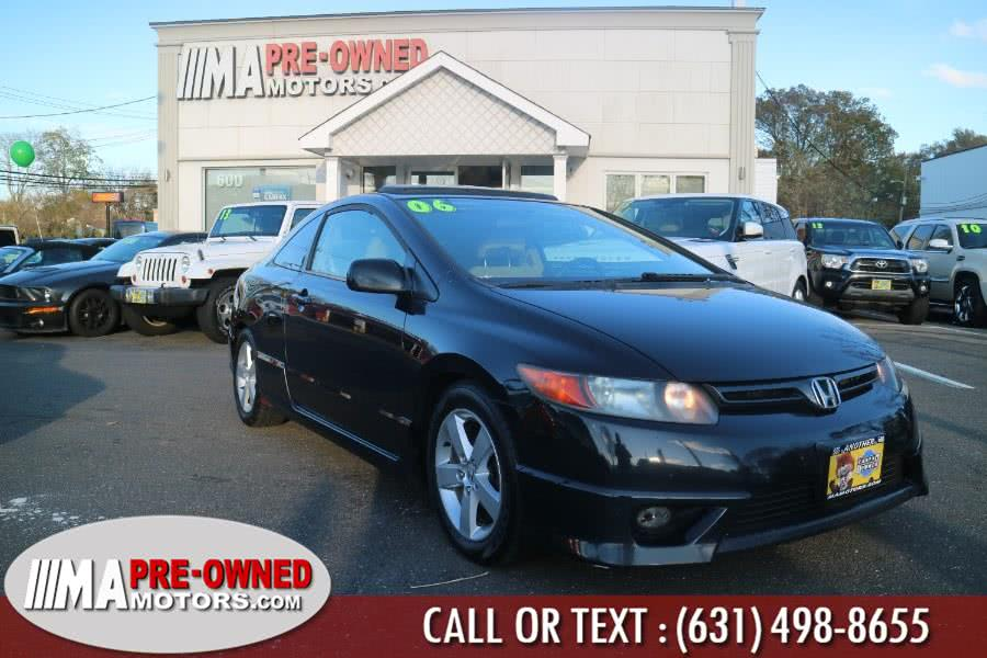 Used 2006 Honda Civic Cpe in Huntington, New York | M & A Motors. Huntington, New York