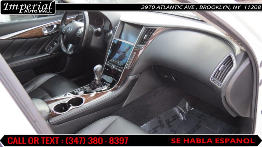 2014 Infiniti Q50 4dr Sdn Premium AWD, available for sale in Brooklyn, New York | Imperial Auto Mall. Brooklyn, New York
