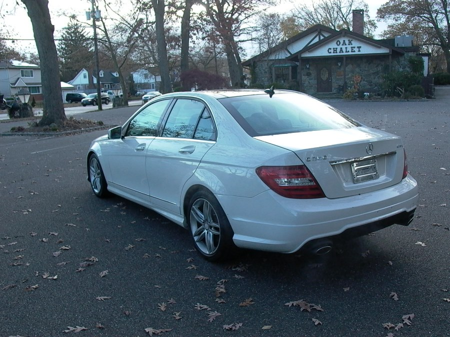 2012 Mercedes-Benz C-Class 4dr Sdn C 300 Sport 4MATIC, available for sale in Bellmore, NY