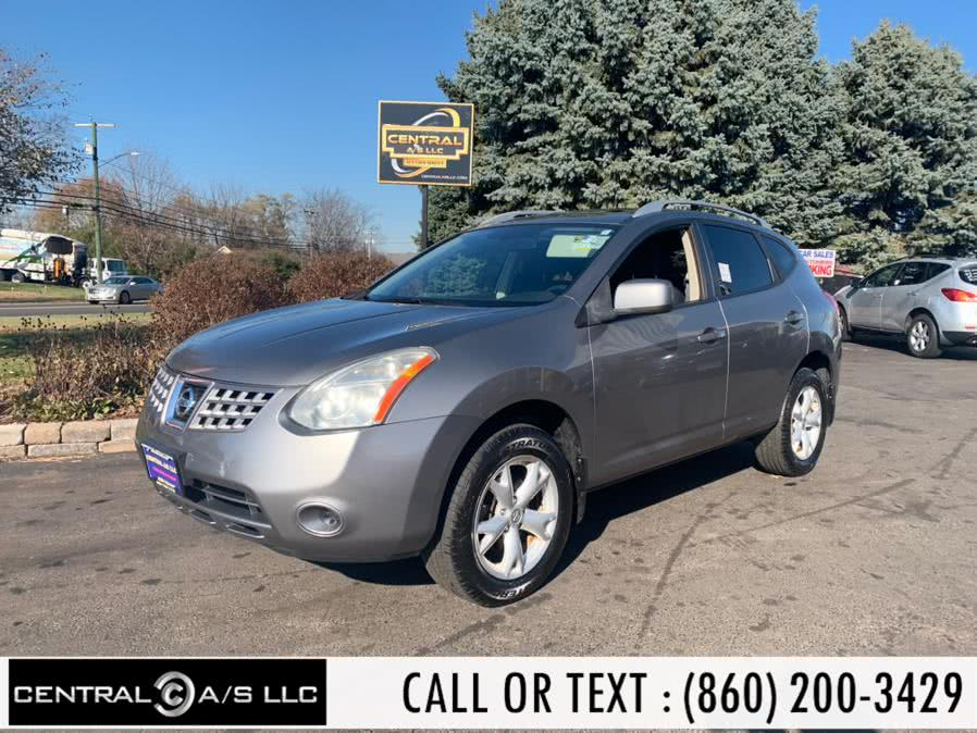 Used Nissan Rogue AWD 4dr S 2009 | Central A/S LLC. East Windsor, Connecticut