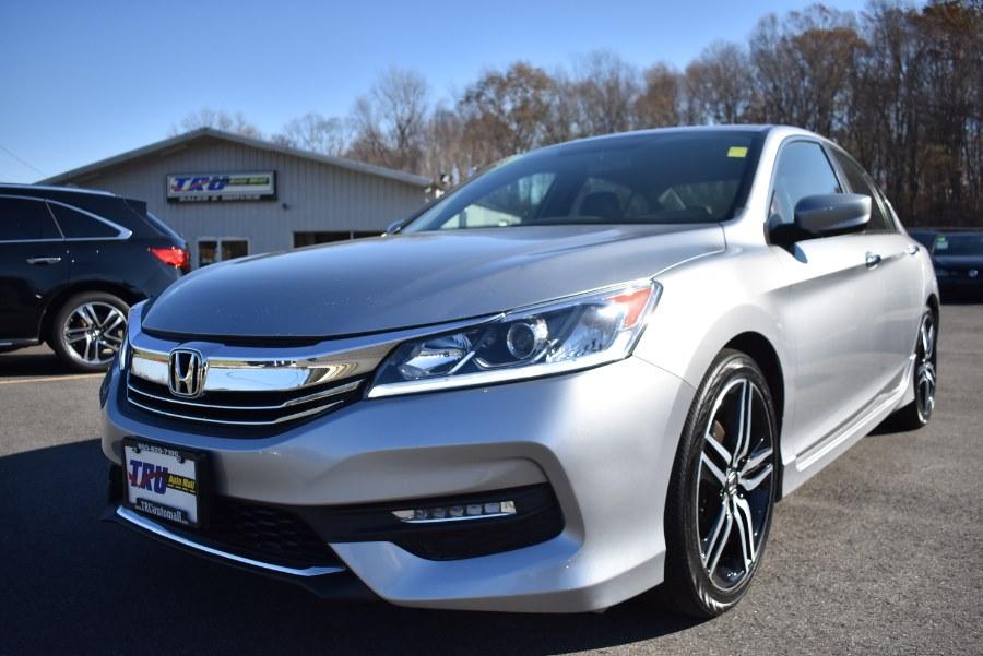 2017 Honda Accord Sedan Sport SE CVT, available for sale in Hartford, Connecticut   VEB Auto Sales. Hartford, Connecticut
