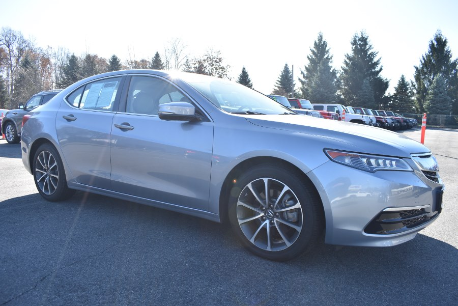 2015 Acura TLX 4dr Sdn FWD V6 Tech, available for sale in Hartford, Connecticut | VEB Auto Sales. Hartford, Connecticut