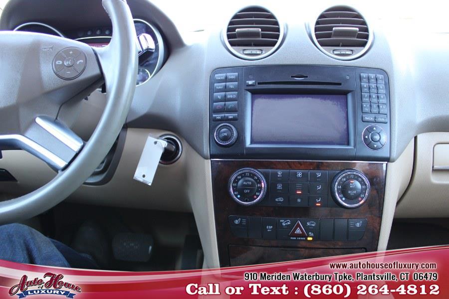 2010 Mercedes-Benz M-Class 4MATIC 4dr ML350 BlueTEC, available for sale in Plantsville, Connecticut | Auto House of Luxury. Plantsville, Connecticut