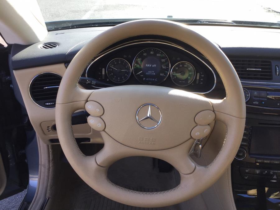 2006 Mercedes-Benz CLS-Class 4dr Sdn 5.0L, available for sale in Plantsville, Connecticut   L&S Automotive LLC. Plantsville, Connecticut