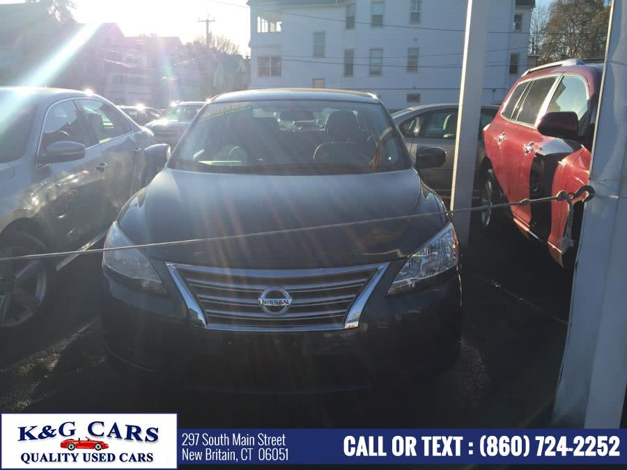 Used 2014 Nissan Sentra in New Britain, Connecticut | K and G Cars . New Britain, Connecticut
