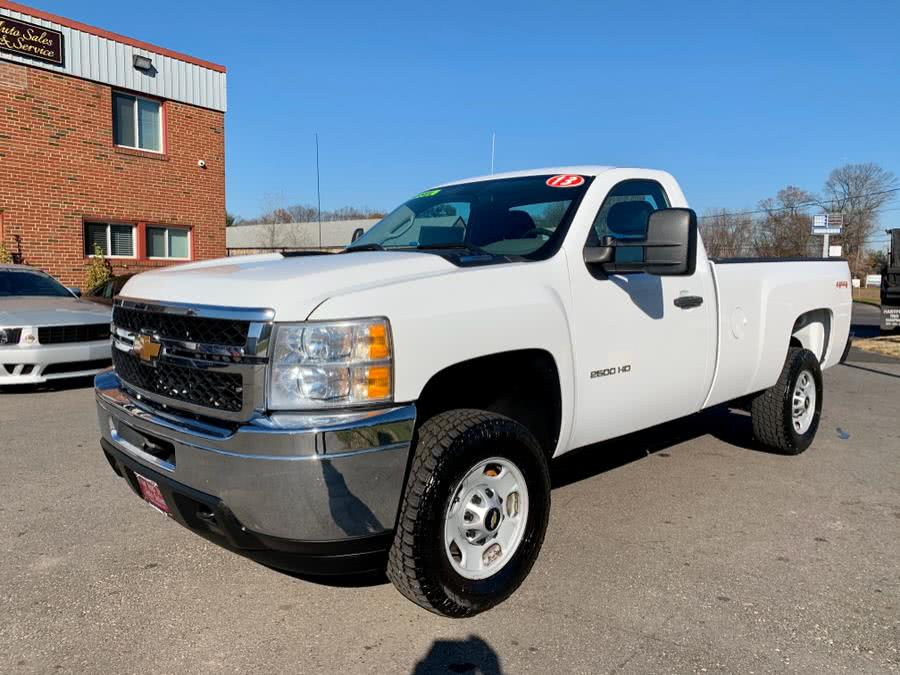 Used 2013 Chevrolet Silverado 2500HD in South Windsor, Connecticut | Mike And Tony Auto Sales, Inc. South Windsor, Connecticut