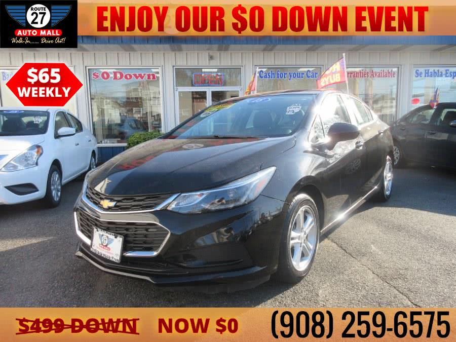 Used 2018 Chevrolet Cruze in Linden, New Jersey | Route 27 Auto Mall. Linden, New Jersey