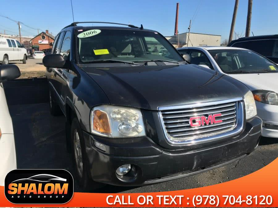 2006 GMC Envoy , available for sale in South Lawrence, Massachusetts | Shalom Auto Group LLC. South Lawrence, Massachusetts