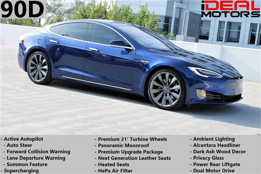Used Tesla Model s 90D Sedan 4D 2016 | Ideal Motors. Costa Mesa, California