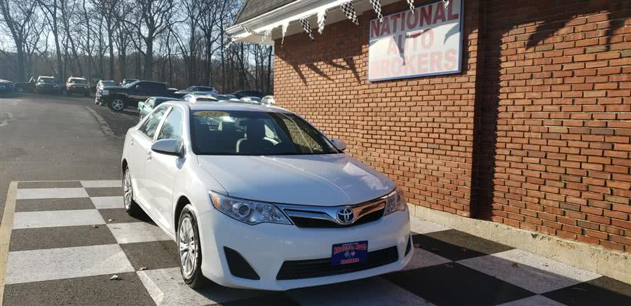 Used Toyota Camry 4dr Sdn Auto LE 2013 | National Auto Brokers, Inc.. Waterbury, Connecticut