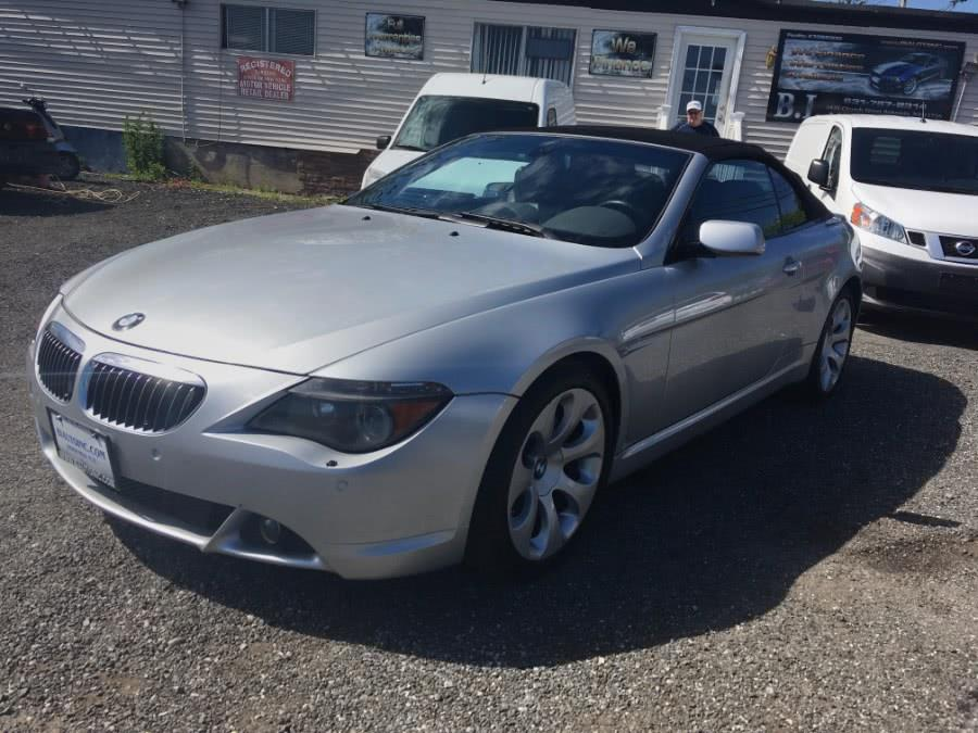 Used BMW 6 Series 645Ci 2dr Convertible 2005 | B I Auto Sales. Bohemia, New York