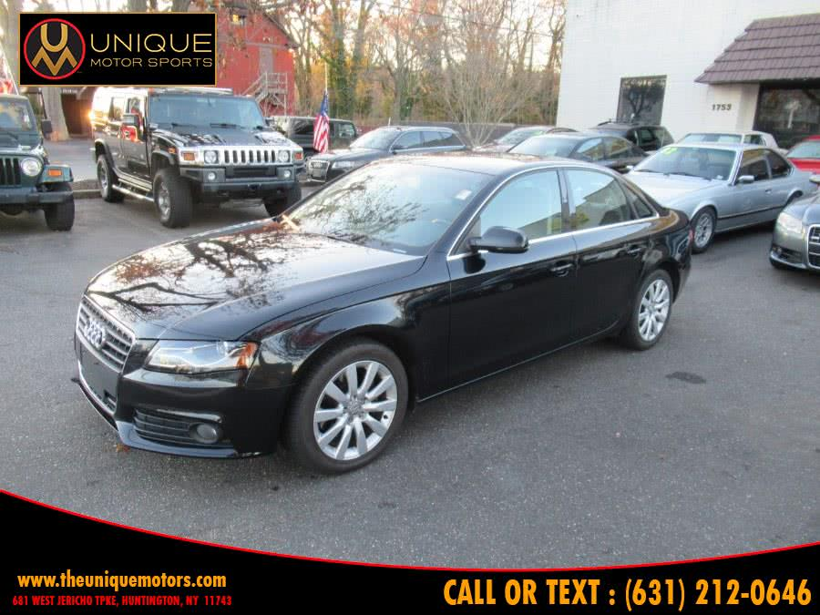 Used 2010 Audi A4 in Huntington, New York | Unique Motor Sports. Huntington, New York