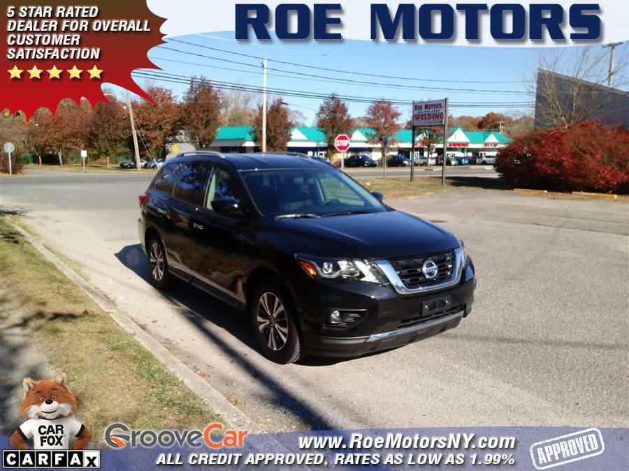 Used 2019 Nissan Pathfinder in Shirley, New York | Roe Motors Ltd. Shirley, New York