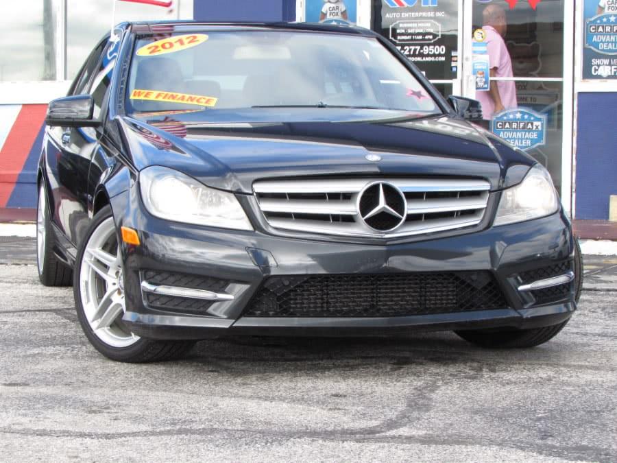 Used Mercedes-Benz C-Class 4dr Sdn C250 Sport RWD 2012 | VIP Auto Enterprise, Inc. Orlando, Florida
