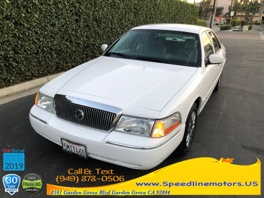 Used 2005 Mercury Grand Marquis in Garden Grove, California | Speedline Motors. Garden Grove, California