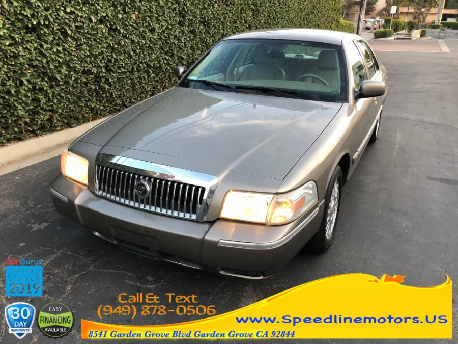 Used 2006 Mercury Grand Marquis in Garden Grove, California | Speedline Motors. Garden Grove, California