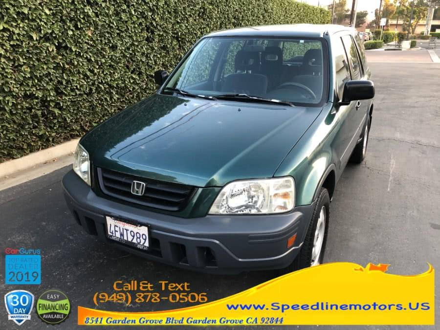 Used 1999 Honda CR-V in Garden Grove, California | Speedline Motors. Garden Grove, California