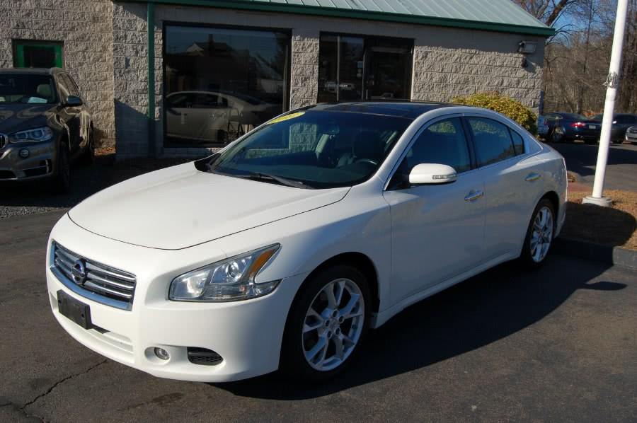 Used Nissan Maxima 4dr Sdn V6 CVT 3.5 SV w/Premium Pkg 2012 | M&N`s Autohouse. Old Saybrook, Connecticut