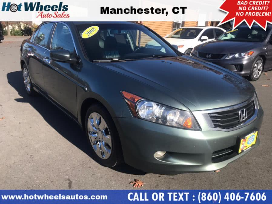 Used 2008 Honda Accord Sdn in Manchester, Connecticut | Hot Wheels Auto Sales LLC. Manchester, Connecticut