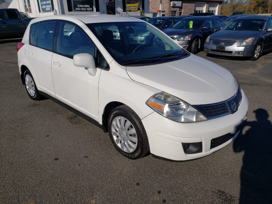 2009 Nissan Versa 5dr HB I4 Auto 1.8 S, available for sale in East Windsor, Connecticut | A1 Auto Sale LLC. East Windsor, Connecticut