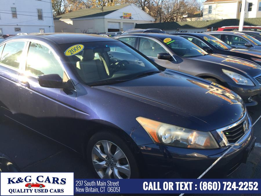 Used Honda Accord Sdn 4dr I4 Auto EX-L PZEV 2009 | K and G Cars . New Britain, Connecticut