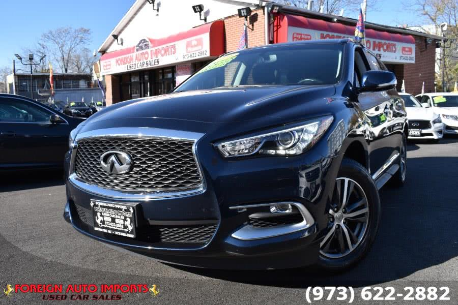 Used INFINITI QX60 AWD 4dr 2016 | Foreign Auto Imports. Irvington, New Jersey