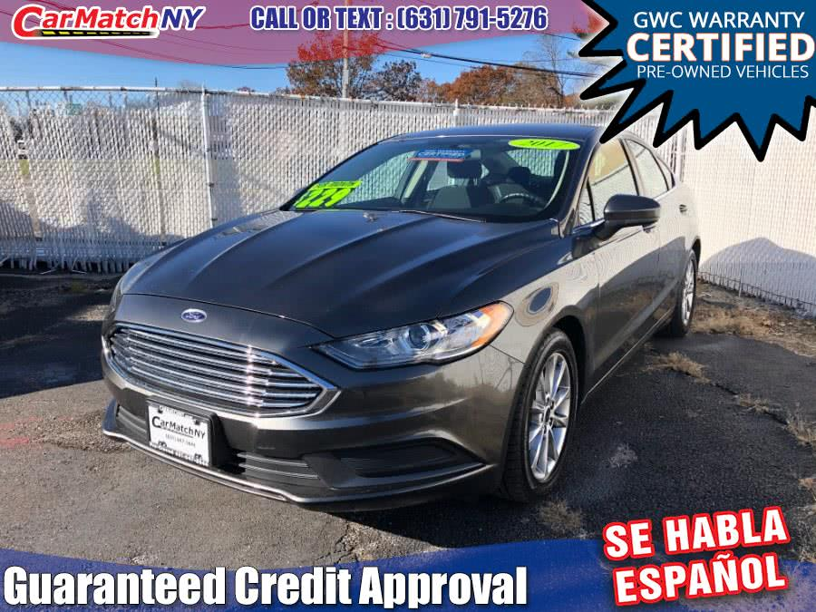 Used Ford Fusion SE FWD 2017 | Carmatch NY. Bayshore, New York