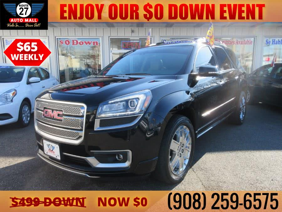Used 2016 GMC Acadia in Linden, New Jersey | Route 27 Auto Mall. Linden, New Jersey
