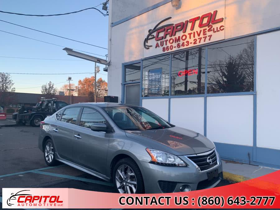 Used Nissan Sentra 4dr Sdn I4 CVT SV 2013 | Capitol Automotive 2 LLC. Manchester, Connecticut