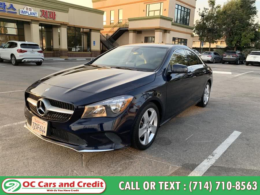 Used 2017 Mercedes-benz Cla in Garden Grove, California | OC Cars and Credit. Garden Grove, California