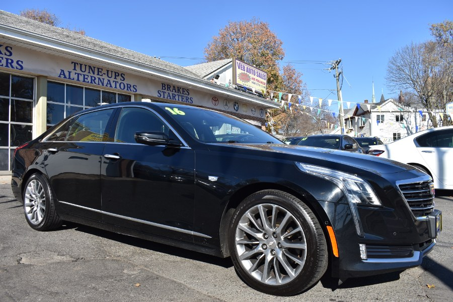 2016 Cadillac CT6 4dr Sdn 3.6L Luxury AWD, available for sale in Hartford, Connecticut | VEB Auto Sales. Hartford, Connecticut