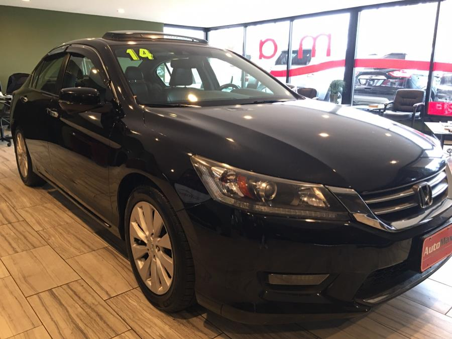 2014 Honda Accord Sedan 4dr I4 CVT EX-L, available for sale in West Hartford, Connecticut | AutoMax. West Hartford, Connecticut