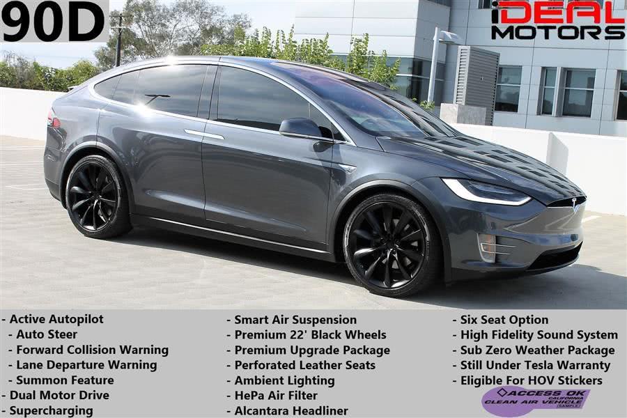 Used 2016 Tesla Model x in Costa Mesa, California   Ideal Motors. Costa Mesa, California