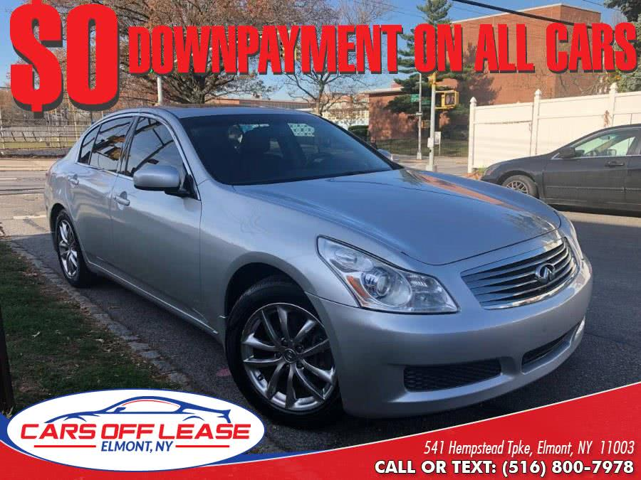 Used 2007 Infiniti G35 Sedan in Elmont, New York | Cars Off Lease . Elmont, New York
