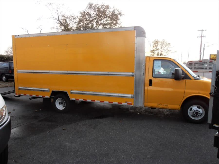 "Used GMC SAVANA 3500 16 FT BOX TRUCK 177"" WB 2015 