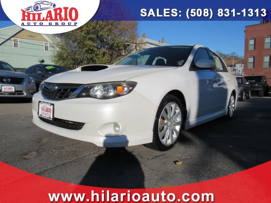 Used Subaru Impreza Sedan 4dr Auto WRX w/Premium Pkg 2008 | Hilario's Auto Sales Inc.. Worcester, Massachusetts