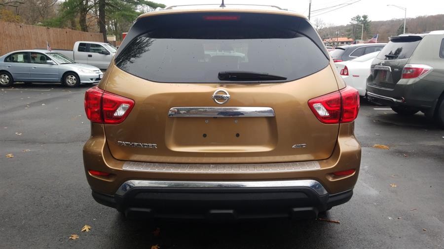 Used Nissan Pathfinder PLATNUM 2017 | State Line Auto LLC. Wethersfield, Connecticut