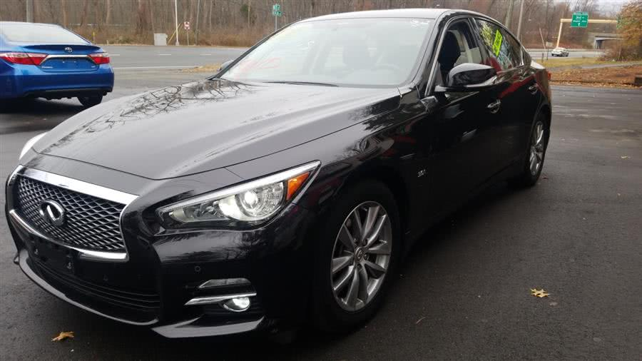 Used 2016 INFINITI Q50 in Wethersfield, Connecticut | State Line Auto LLC. Wethersfield, Connecticut