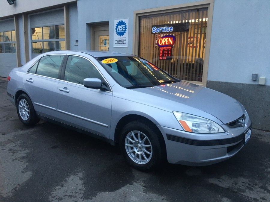 2003 Honda Accord Sdn LX Auto, available for sale in Bristol, Connecticut | Bristol Auto Center LLC. Bristol, Connecticut