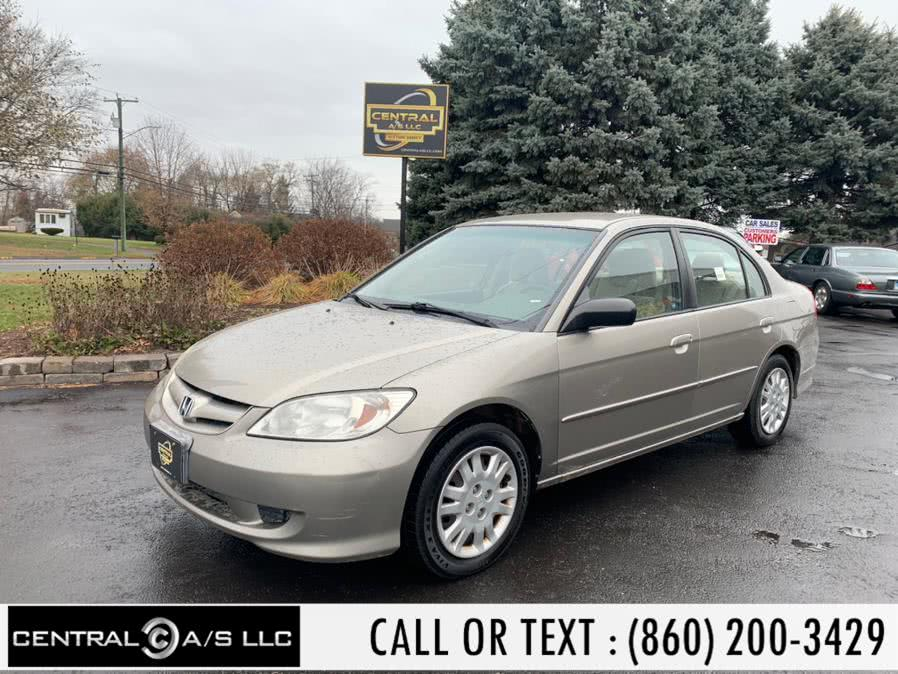 Used Honda Civic Sdn LX AT 2005 | Central A/S LLC. East Windsor, Connecticut