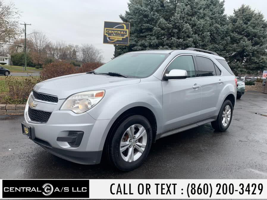 Used Chevrolet Equinox AWD 4dr LT w/1LT 2010 | Central A/S LLC. East Windsor, Connecticut