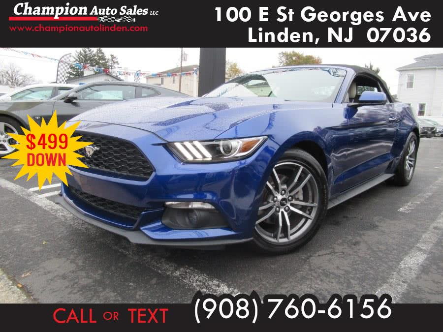 Used 2016 Ford Mustang in Linden, New Jersey | Champion Used Auto Sales. Linden, New Jersey