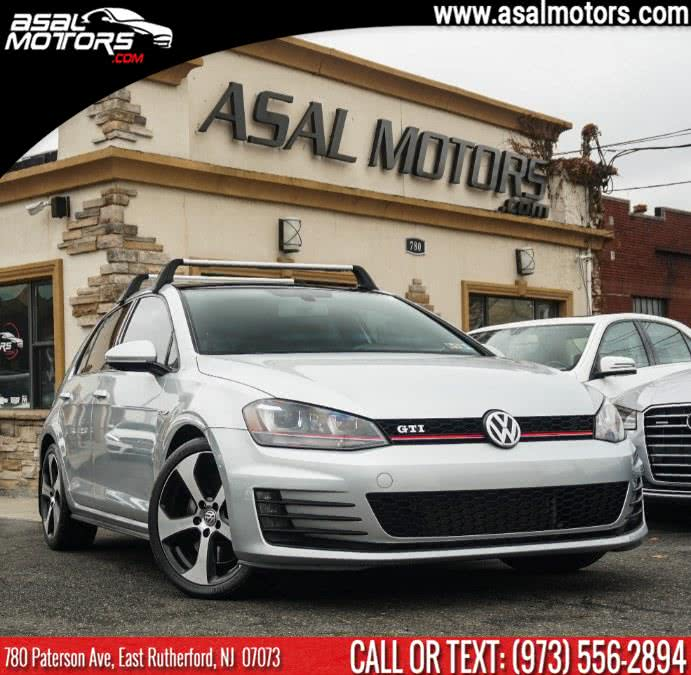 Used Volkswagen Golf GTI 4dr HB Man SE w/Performance Pkg 2016 | Asal Motors. East Rutherford, New Jersey