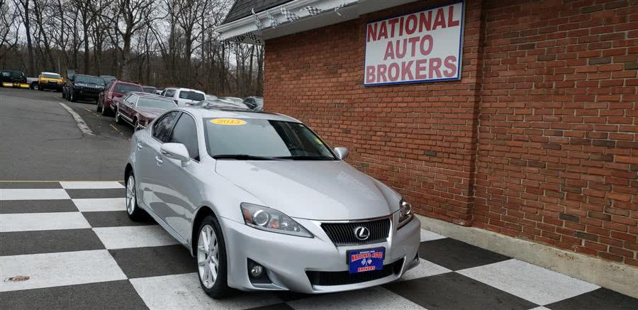 2013 Lexus IS 250 4dr Sport Sdn Auto AWD, available for sale in Waterbury, Connecticut | National Auto Brokers, Inc.. Waterbury, Connecticut