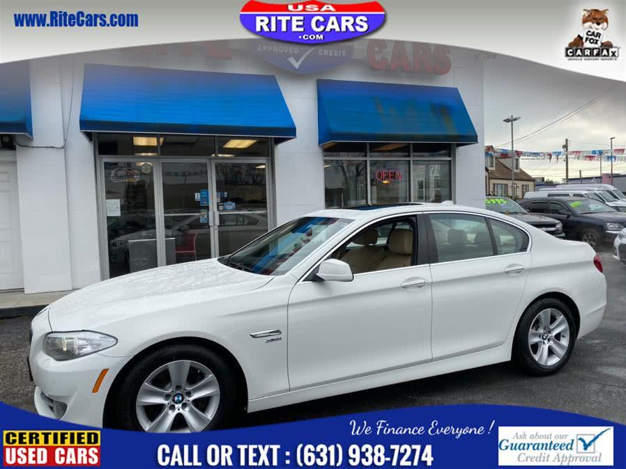 Used BMW 5 Series 4dr Sdn 528i xDrive AWD w/ SPORT PKG 2012   Rite Cars, Inc. Lindenhurst, New York