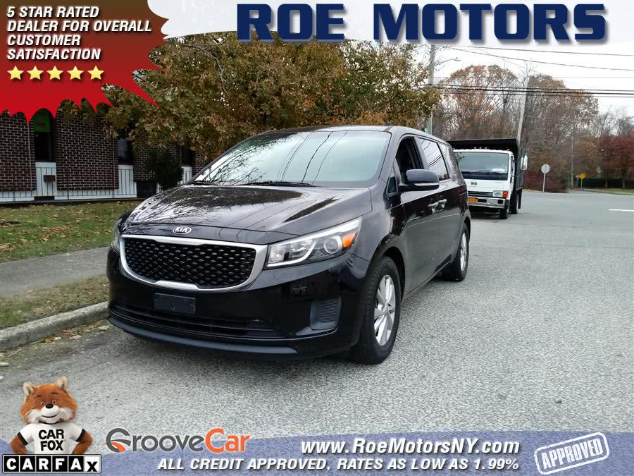 Used 2015 Kia Sedona in Shirley, New York | Roe Motors Ltd. Shirley, New York
