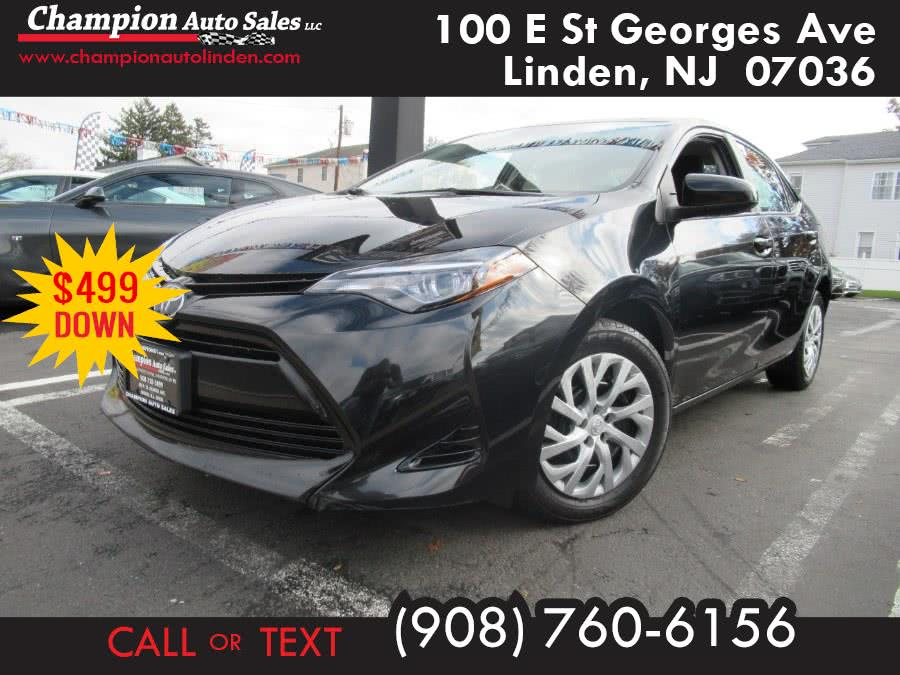 Used 2018 Toyota Corolla in Linden, New Jersey | Champion Used Auto Sales. Linden, New Jersey