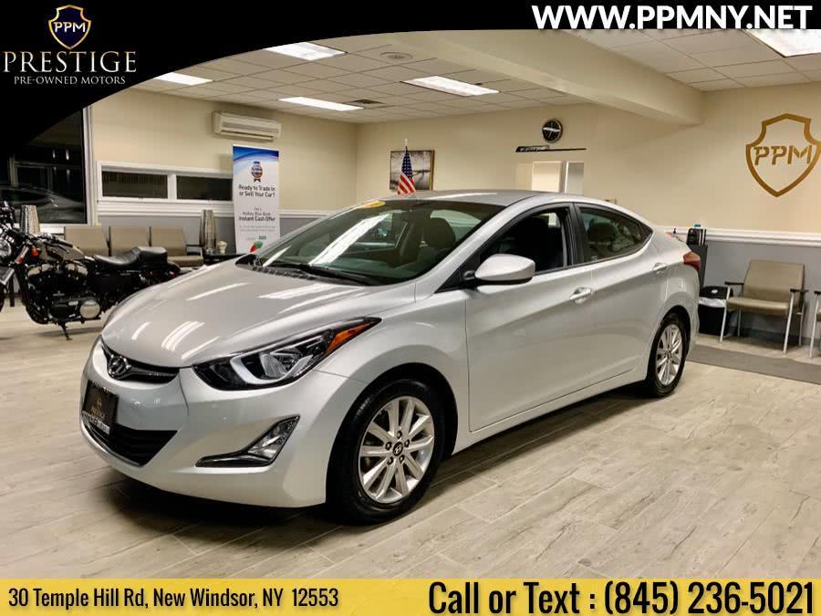 Used 2015 Hyundai Elantra in New Windsor, New York   Prestige Pre-Owned Motors Inc. New Windsor, New York