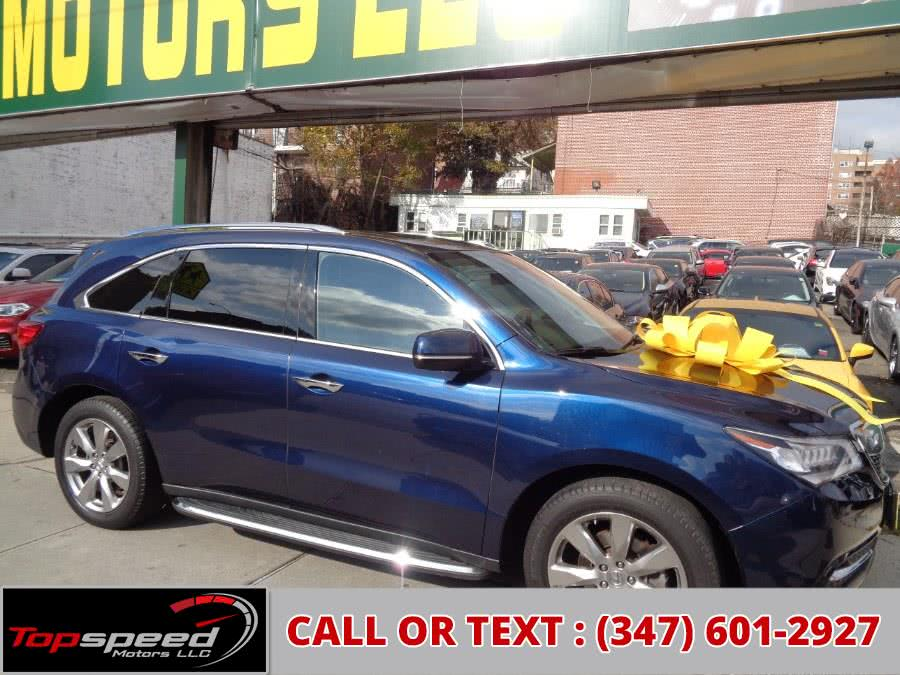 Used 2016 Acura MDX SH-AWD With Advance Package Premium Sound in Jamaica, New York | Top Speed Motors LLC. Jamaica, New York